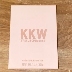 Kylie Cosmetics KKW 4 pack lipsticks (never used)